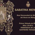 La Hermandad del Rocío de Málaga celebrará su misa mensual